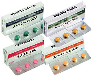 ED治療薬3種スーパーセット+ラブスマ